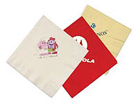 Colored 3-Ply Luncheon Napkins