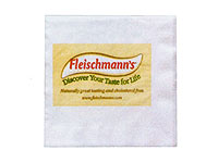 2-Ply White Beverage Napkins