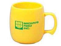 10.5 oz. Corn Plastic Mugs