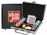 100 Piece Aluminum Poker Sets