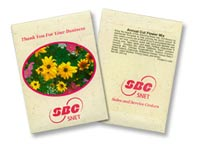 Annual Cut Flowers Seed Packets