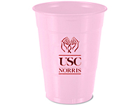 16 oz. Pink Plastic Cups