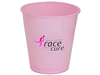 12 oz. Pink Plastic Cups