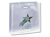 Zodiac Frosted Carryout Bags
