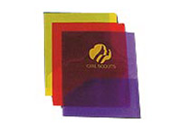 "9"" x 12"" Twin Pocket Plastic Folders"