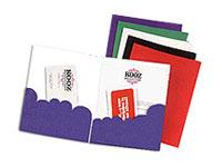 Scalloped Edge Pocket Folders