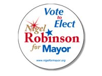 Political Buttons, Round, 3