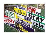Poly-Bag Yard Signs