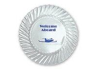 Plastic Plates, Classicware Clear, 7.5