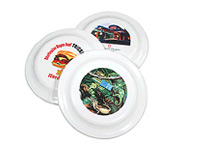 Four Color Frisbees