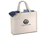 """19"""" x 15-1/2"""" Recyclable Plastic Tote Bags"""