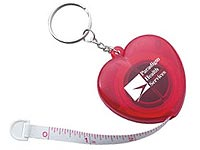 Heart Keychain Tape Measures