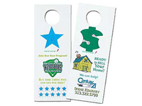 Seed Infused Pop-Out Door Hangers
