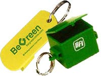 Environmentally Friendly Keychains