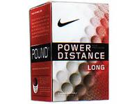 Nike Golf Balls, Power Distance Long