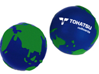 World Globe Stress Balls