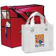 Non-Woven Poly Reusable Tote Bags