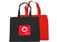 "15"" x 16""  Biodegradable Cotton Budget Totes"