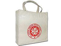 "14"" x 15"" Organic Cotton Eco Shopper Bags"