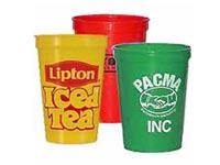 17 oz. Biodegradable Plastic Stadium Cups