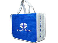 "Wellness 16"" x 14"" Reusable PET Shopping Bags"