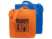 "15"" x 13"" Non-Woven Poly Reusable Shopping Bags"