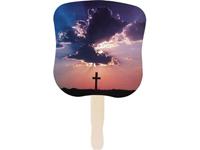 Religious Fans, Inspirational Cross