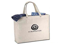 "19"" x 15-1/2"" Recyclable Plastic Tote Bags"