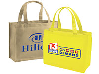 "13"" x 13"" Non-Woven Reusable Shopping Bags"