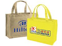 """13"""" x 13"""" Non-Woven Reusable Shopping Bags"""
