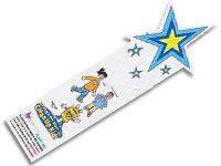 Custom Shape Seed Bookmarks