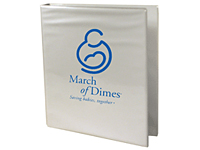 "80% Recycled 1"" Ring Vinyl Binders"