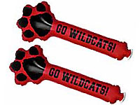 Paw Shaped Thunder Stix Noisemakers