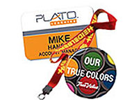 Trade Show Badges, Buttons & Lanyards