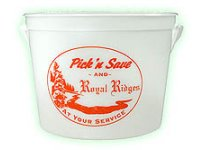 Glow-In-The-Dark Pails, 64 Oz.