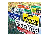 Union Corrugated Plastic Yard Signs
