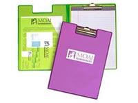 Vinyl Clip Pad Holder Folders