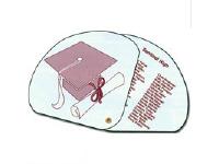 Expandable Graduation Fans, High Gloss Finish