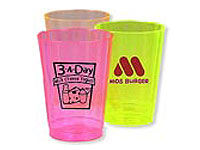 Disposable Poly Brite Lite Plastic Cups