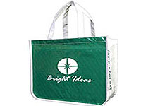 "16"" x 14"" 85% Reusable Message Shopping Bags"