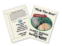 Organic Cantaloupe Seed Packets