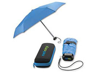 Folding Umbrellas, Deluxe Umbrella With Matching Case