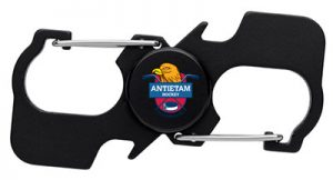 Bottle Opener Spinner with Carabiners