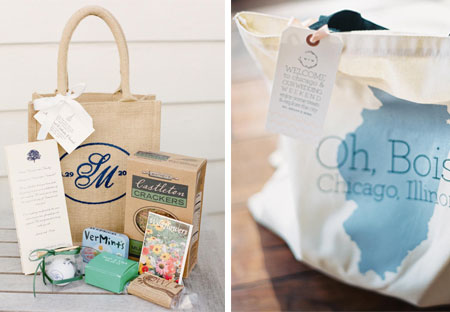 How to Create a Wedding Welcome Bag
