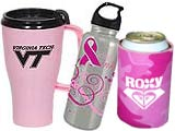 Breast Cancer Awareness Drinkware Promotions