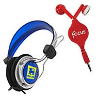 Custom Earbuds and Headphones