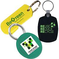 Personalized Eco-Friendly Keychains