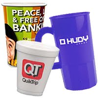 printed disposable drinkware