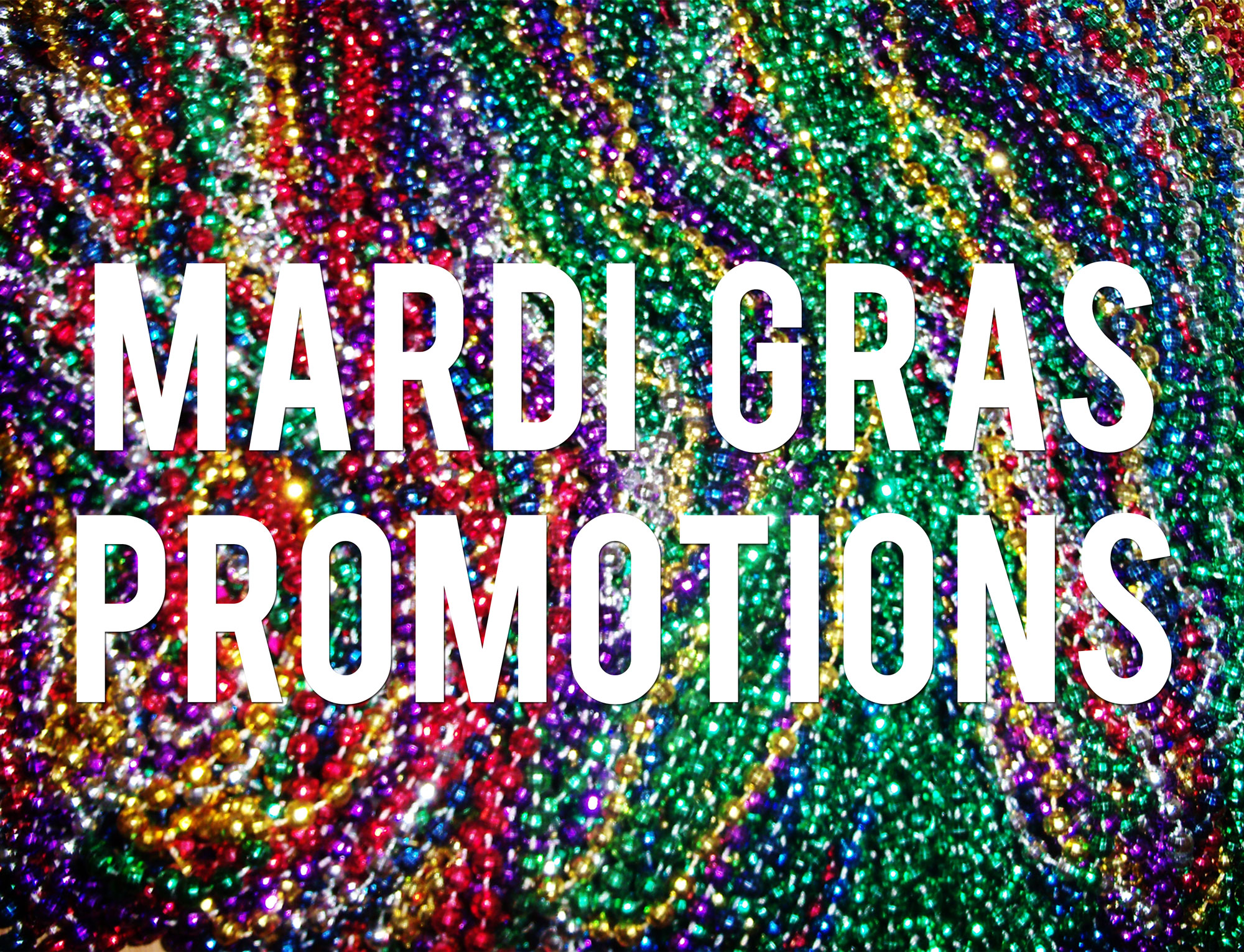 Custom Mardi Gras Products