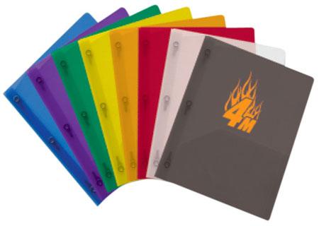 Plastic Presentation Folders
